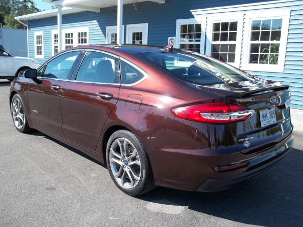 2019 Ford Fusion Photo 4